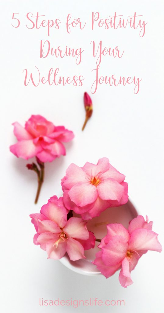 5 steps to help you stay positive when dealing with chronic illness. Be confidant and know that you are so much more than your health issues and don't let your illness define who you are. Lisa xo #wellness #health #wellness #gratitude #heart-centered