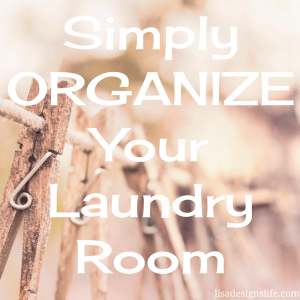 Simply Organize Your Laundry Room