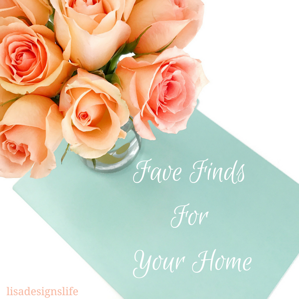 Fave Finds For Your Home. It has been a super crazy, busy but awesome month so I was a bit late with this month's post about my Fave products for your home but I hope you enjoy them just the same. Click to find out what they are!