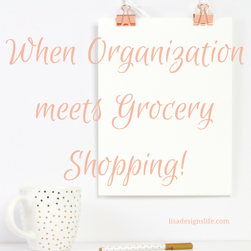 When Organization Meets Grocery Shopping