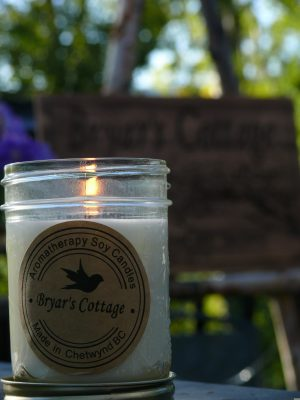 Bryar's Cottage Natural Soy Candles, scented, aromatherapy and Chakra candles, safe for your home and life, created with care for you and your family.