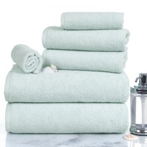 Shop4You by Lisa: 6 Piece Egyptian Quality Cotton Towel Set. Image via Wayfair.com