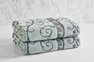 Shop4You by Lisa Reversible Wave Towel. Image via Wayfair.com