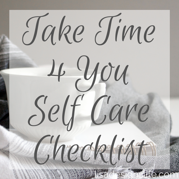 Click the image to grab your Take Time 4 You Self Care Checklist. Regardless of how many people you're living with, everyone deserves a soothing personal shrine for unwinding and relaxing. There is a time and place for everything, including solitude. Carve out a little section just for yourself and gain the much-needed sense of peace.