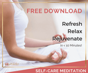 Free Download, self-care medication to relax and bathe yourself in the practice of self-care with a soothing guided meditation to stay positive and mindful on your sacred journey.