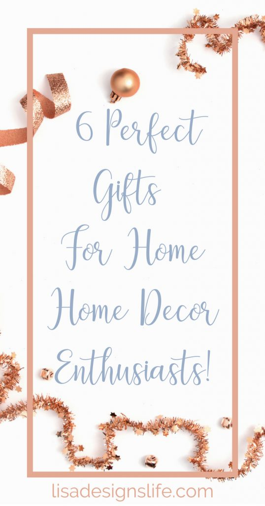 Find the perfect gift for the Home Decor/DIY addict in your life. A fabulous list of personalized gifts for your special someone who loves to decorate and DIY. Bring a smile to their face with your thoughtfulness! Click to read more. #homedecor #homedecorating #DIY #crafts #interiordesign #homedecorating