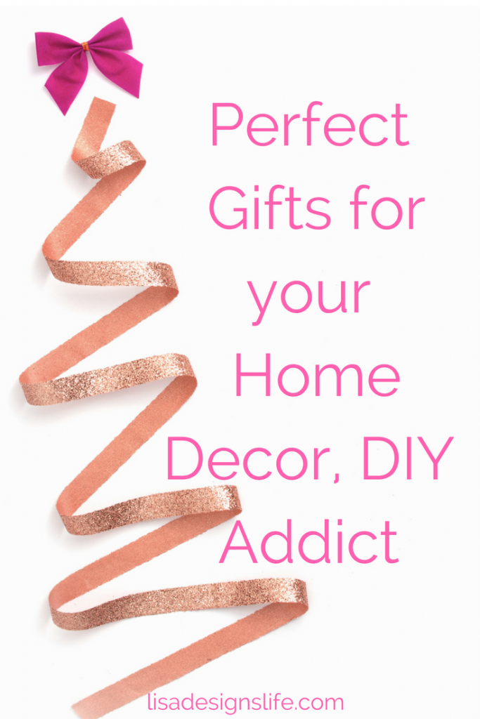Find the perfect gift for the Home Decor/DIY addict in your life. A fabulous list of personalized gifts for your special someone who loves to decorate and DIY. Bring a smile to their face with your thoughtfulness. Click to read more and see which personalized gift items made the list.