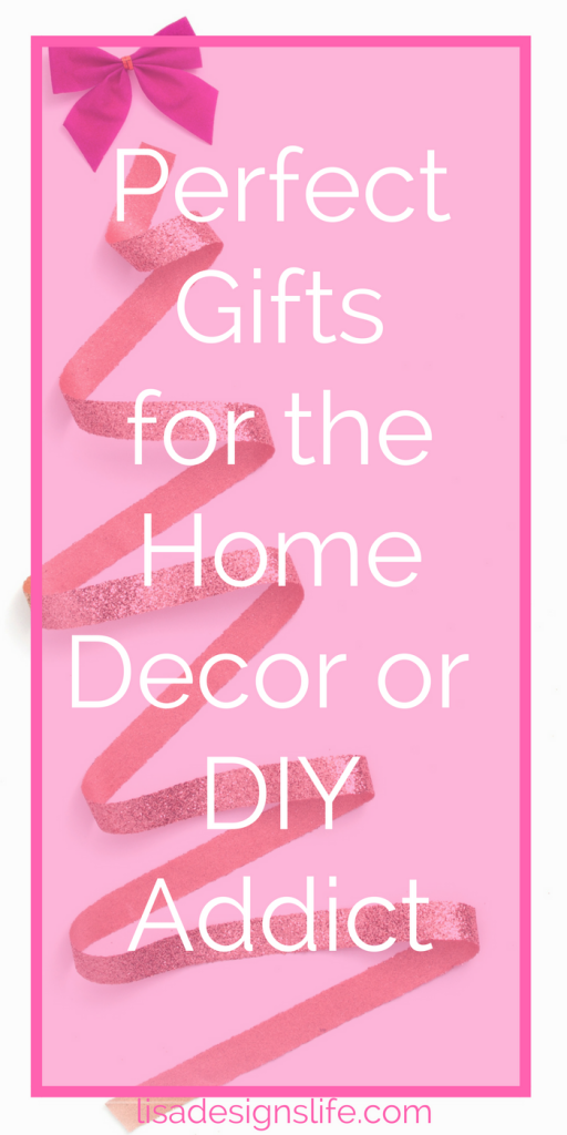 Find the perfect gift for the Home Decor/DIY addict in your life. A fabulous list of personalized gifts for your special someone who loves to decorate and DIY. Bring a smile to their face this Christmas with your thoughtfulness. Click to read more and see which personalized gift items made the list.