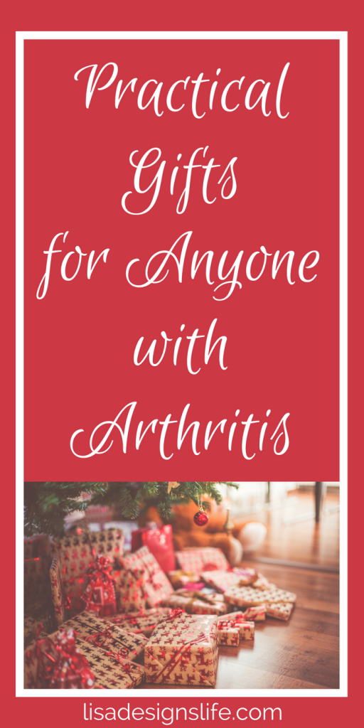 Today I am sharing some wonderful gifts ideas that are comforting and useful in relieving the inflammation, aggravation, and pain of arthritis symptoms.  Any of these items would be very much appreciated by that special person in your life who is affected by arthritis. Click to see my list and give a gift that improves the overall quality of someone's life and remind that special someone of your thoughtfulness for years to come.