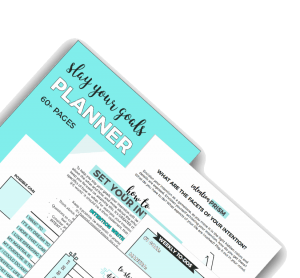 Slay Your Goals in 2018 – Blog and Biz Planner Review