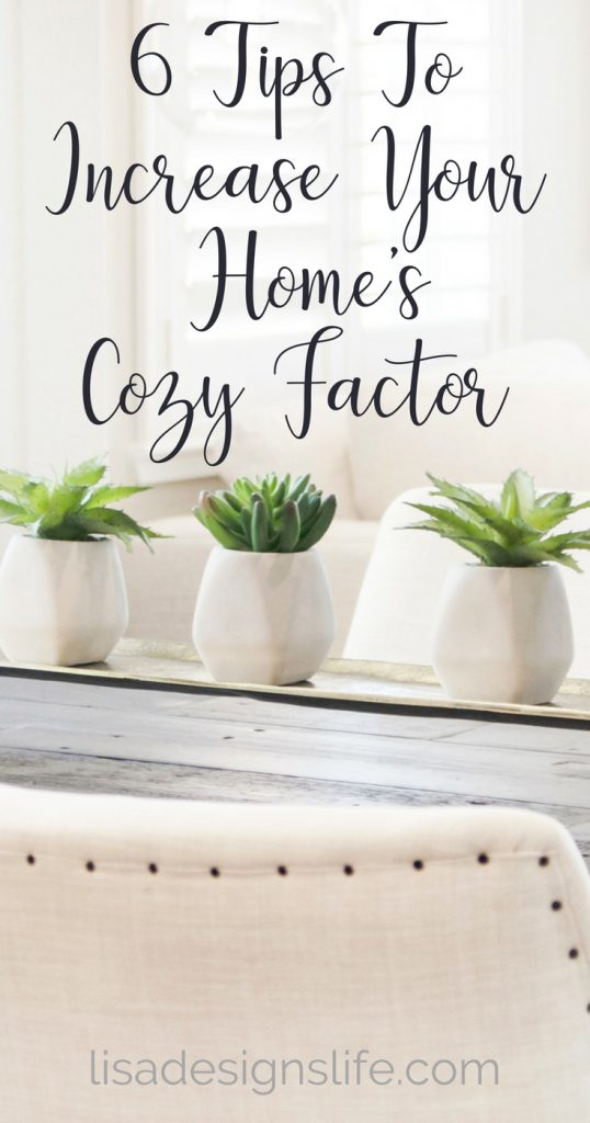 What makes a home cozy and inviting? Click image for six easy ways to boost the cozy in your home, and decorate your space in a way that turns a house into a welcoming home for all. #homestyle #cozyhome #interiorinspo #homedecorating