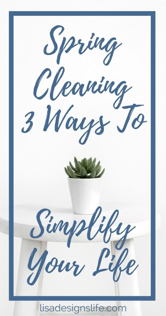 "One thing I am not so excited about though; is Spring Cleaning. Why is spring cleaning so exhausting? Mentally? Physically and Spiritually? Because I'm not just talking about just cleaning my home: I'm talking about cleaning my life – dusting off the proverbial ""blacklisted persons"" book, making sure my financial house is in order and being aware of the potential to overcommit. Following these steps keeps me on the right track to help minimize my anxiety and elevate my state of mind. Click to read more and sign up for our free Simplify Your Life Challenge today!"