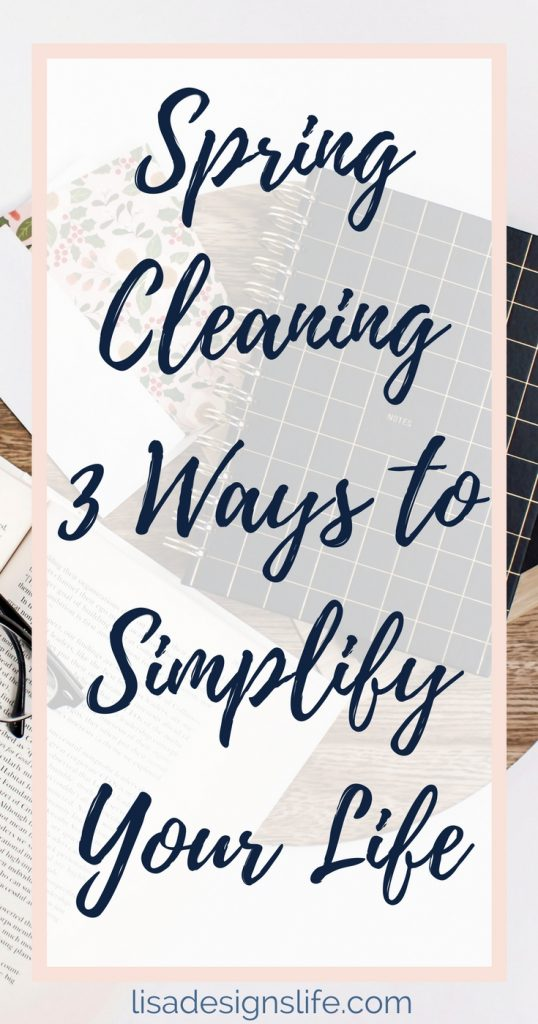"Why is spring cleaning so exhausting? Mentally? Physically and Spiritually? Because I'm not just talking about just cleaning my home: I'm talking about cleaning my life – dusting off the proverbial ""blacklisted persons"" book, making sure my financial house is in order and being aware of the potential to overcommit. Following these steps keeps me on the right track to help minimize my anxiety and elevate my state of mind. Click to read more and sign up for our free Simplify Your Life Challenge today!"