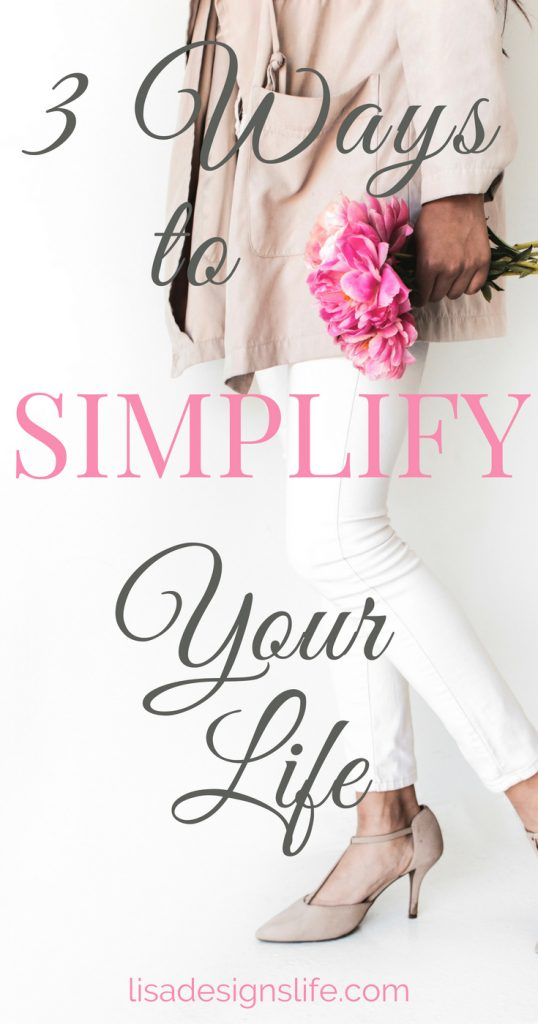 "3 Ways to Simplify Your Life – dust off the proverbial ""black"" book, make the time to review your finances and be aware of the potential to overcommit to social engagements. Click the image to read our post. Lisa xo #simplify #springcleaning #simplifyyourlife #awareness"