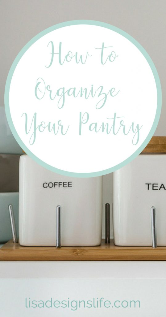 Large or small, whatever size your pantry is, we have the four steps to help you set a game plan, organize your pantry, and give it some personal flair. Click to read how! #organize #pantry #organization #smallpantry