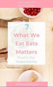 "Food is our responsibility! Do you know what the food you eat is eating? Eat healthier for your body and for the earth's ecosystem. Click the image to learn more, lose weight and get healthy. Genesis 1:29 Then God said, ""I give you every seed-bearing plant on the face of the whole earth and every tree that has fruit with seed in it. They will be yours for food."" #christian #wellness #wholeness #wholefood #guthealth #health #losingweight #diet #healthy"